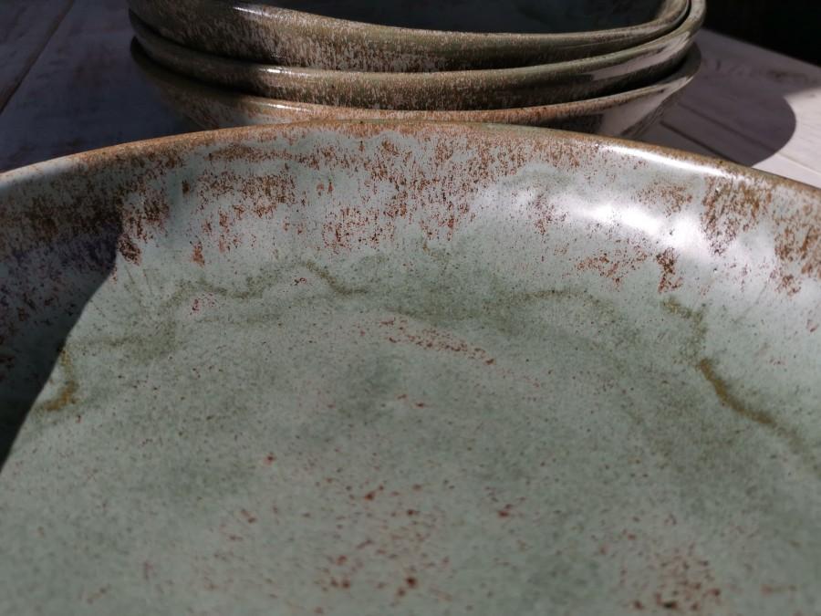 MOUNTAIN gray deep plate