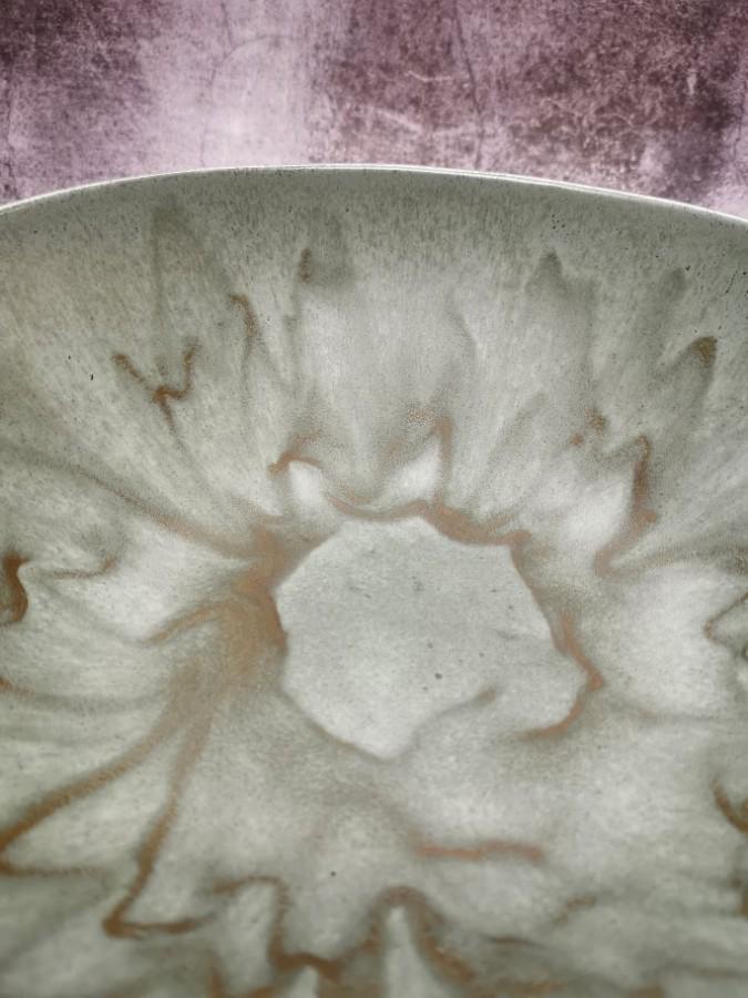 SILVER LICHEN  large bowl