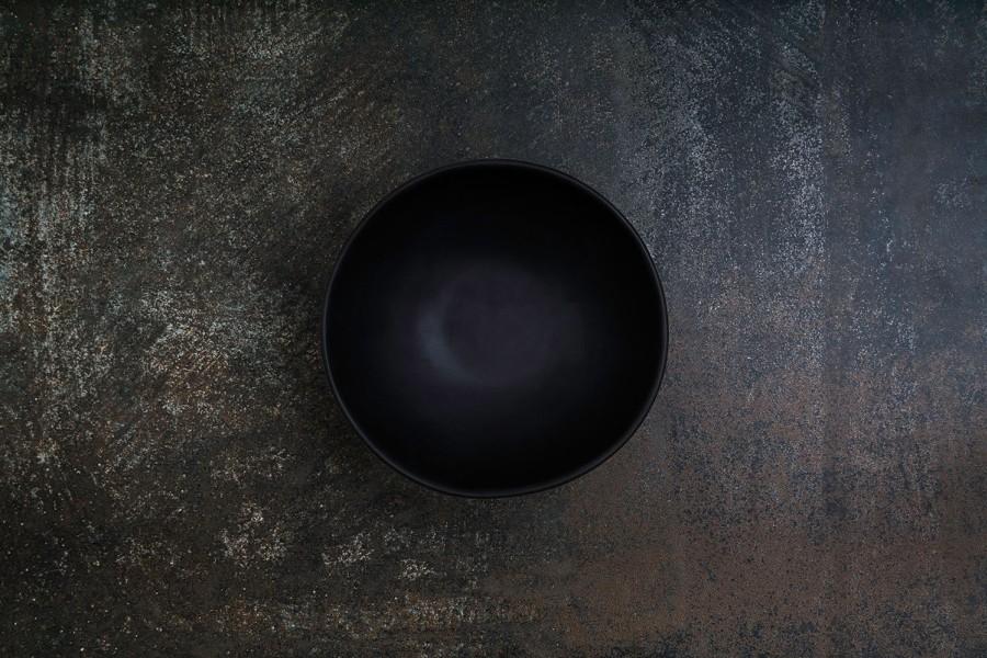 BLACK matt bowl