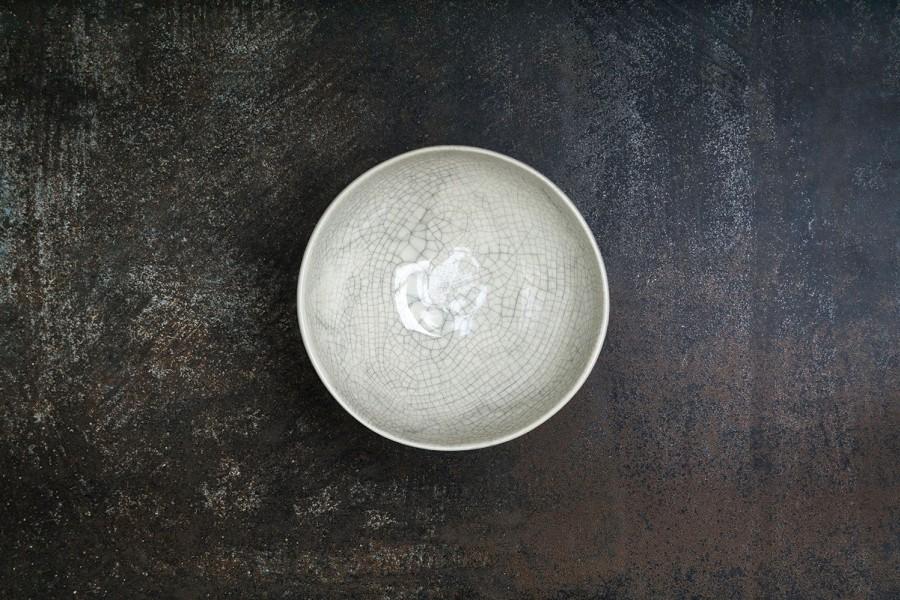 CRAQUELLE  white  bowl