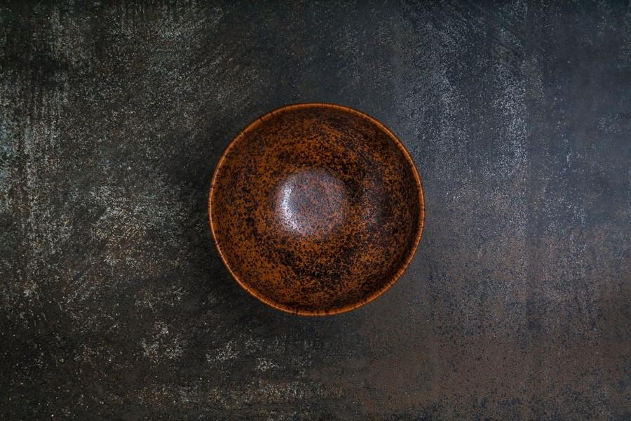 BEAR brown bowl
