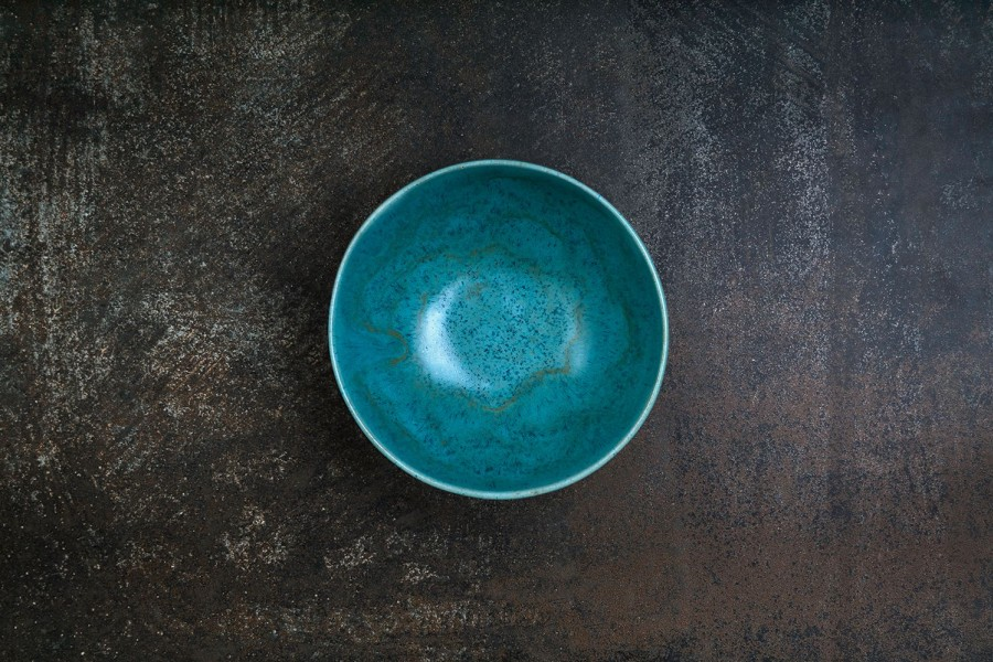 COPPER green bowl
