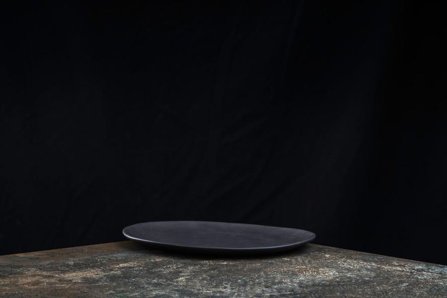 BLACK matt plate